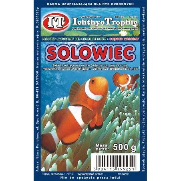 Solowiec - Artemia pokarm...